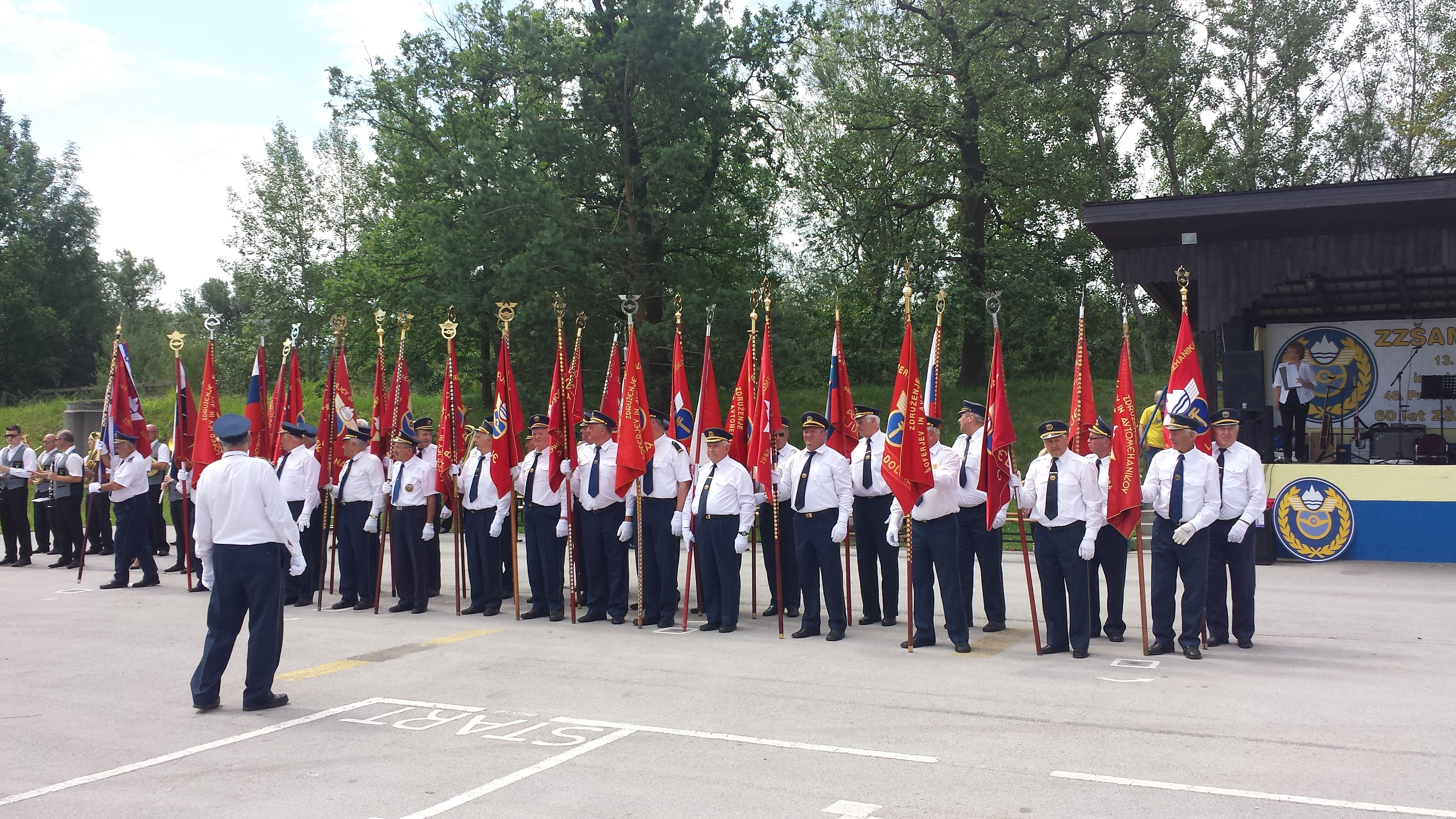 Slowenien 2014 ZSAM Savinjska dolona 60 Jährige Vereinsjubiläum