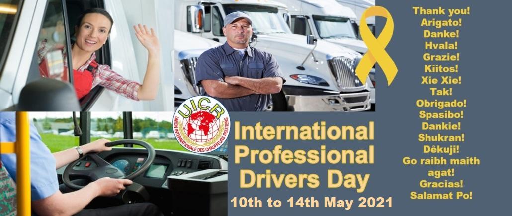 International Professional Driver Appreciation Week
